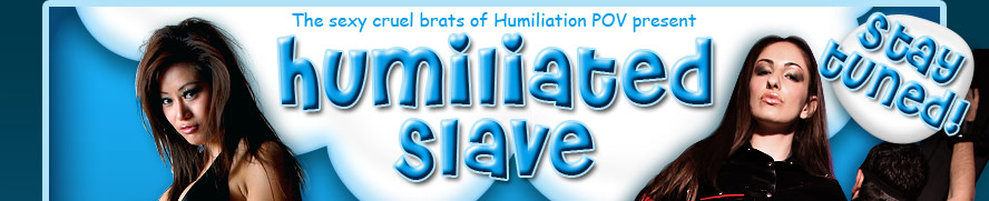 Small Penis Humiliation, Ass Worship and more on HumiliatedSlave.com!